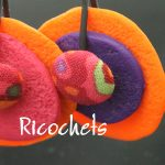 Bijoux colorés, collection ricochets