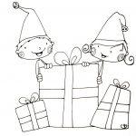 De jolies idées de Noël #9 … Coloriage