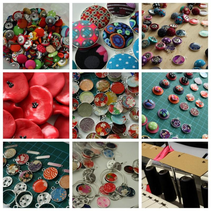 fabrication de bijoux - Une semaine à l'atelier #87