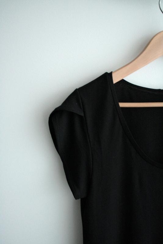 Détail manches de ma petite robe noire