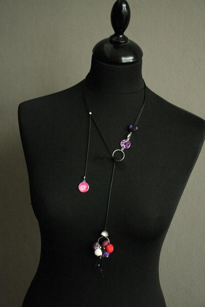 Bijoux féminins Memory, le collier