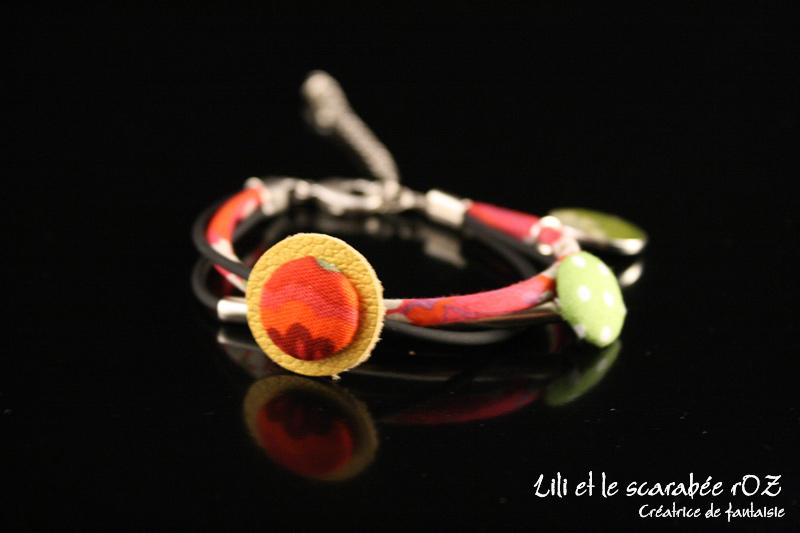 bracelet d'inspiration ethnique voyage en Afrique