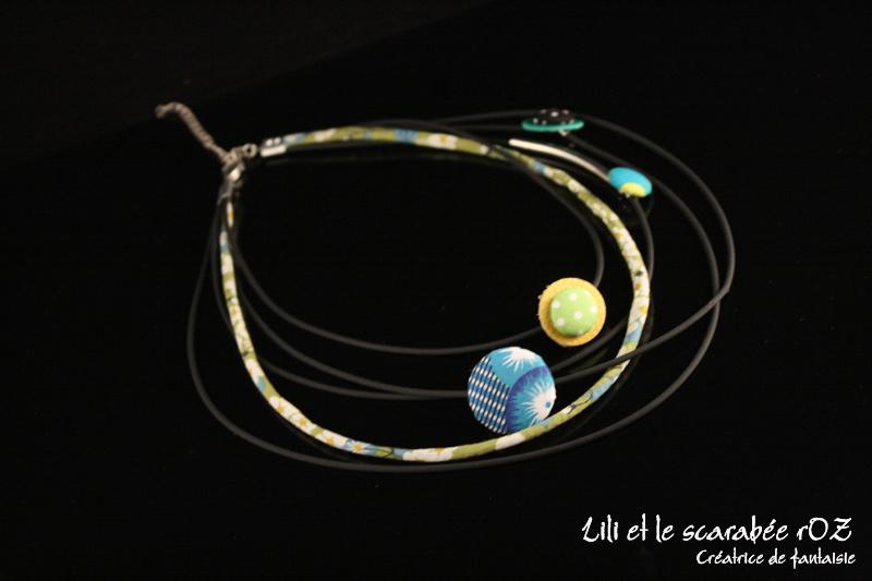 Bijoux d'inspiration ethnique, le collier voyage en afrique