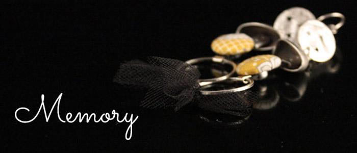 Nouveauté printemps été 2015 Lili et le scarabée rOZ, bijoux Memory