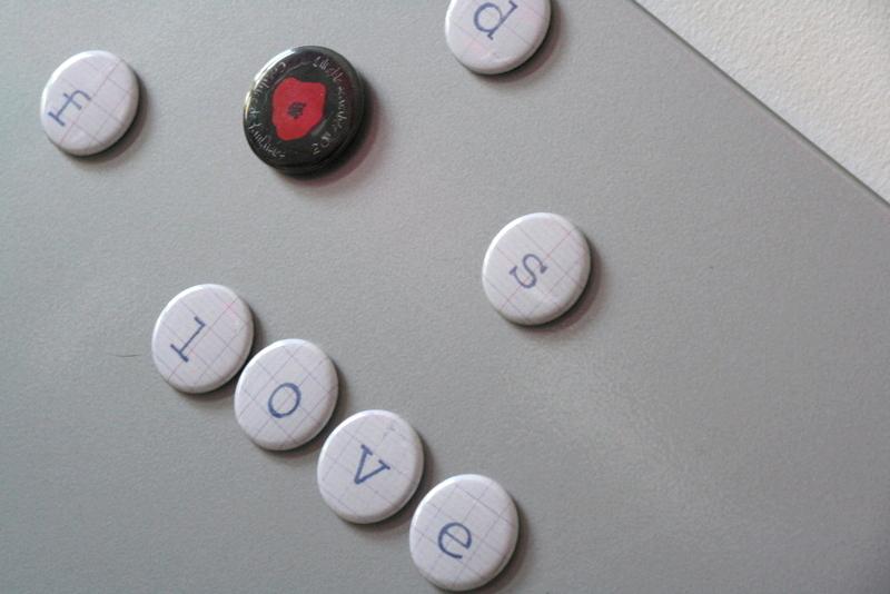 Magnets lettres Brodi Broda