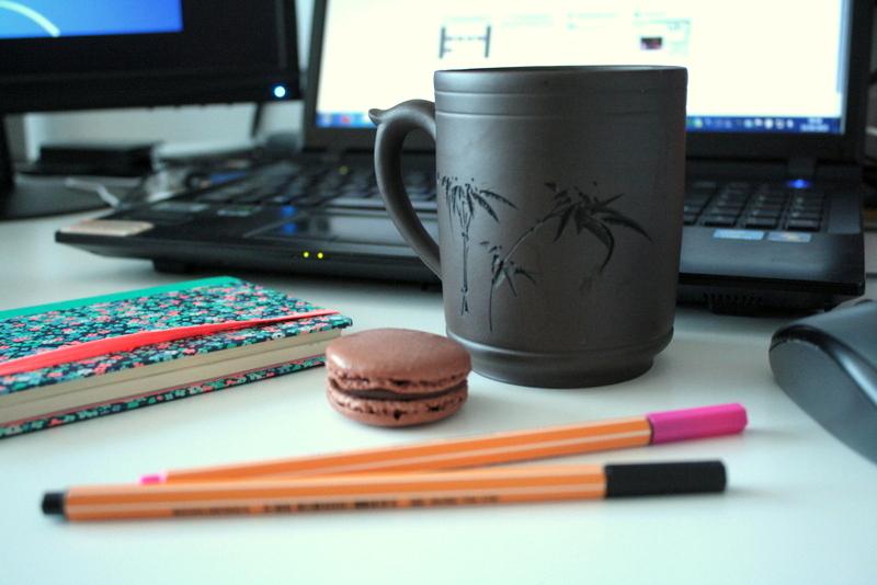 Mon thé et une gourmandise