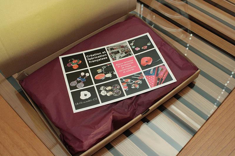 Emballage des commandes - Lili et le scarabée rOZ