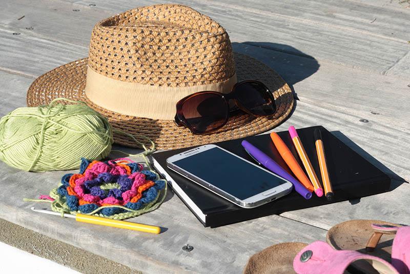 Kit de survie de la créatrice en vacances - Lili et le scarabée rOZ