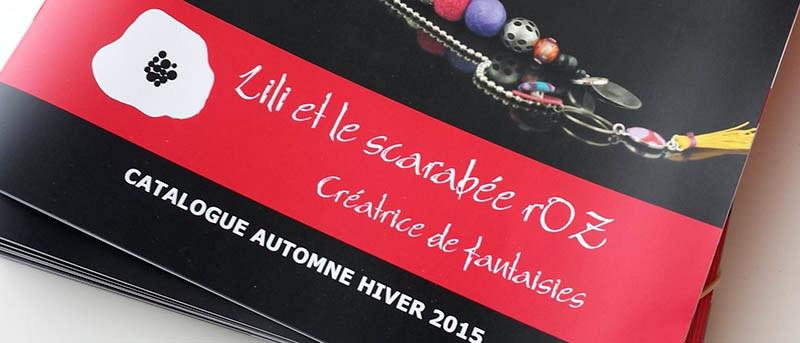 Collections Automne Hiver 2015 - Lili et le scarabée rOZ
