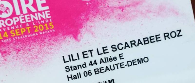 Foire européenne 2015 - Lili et le scarabée rOZ