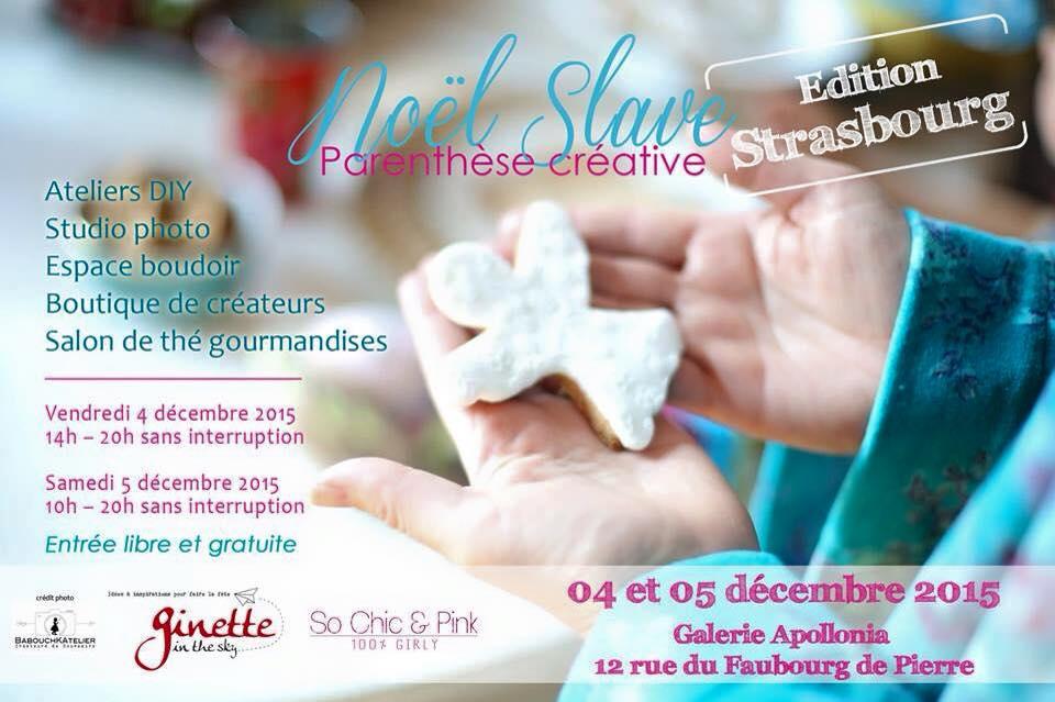 Noël Slave à Strasbourg