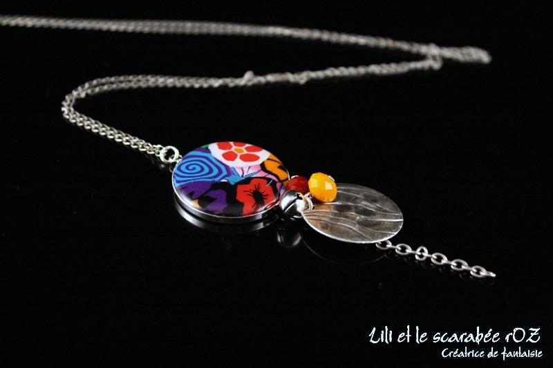 Sautoir bola Epure - Lili et le scarabée rOZ