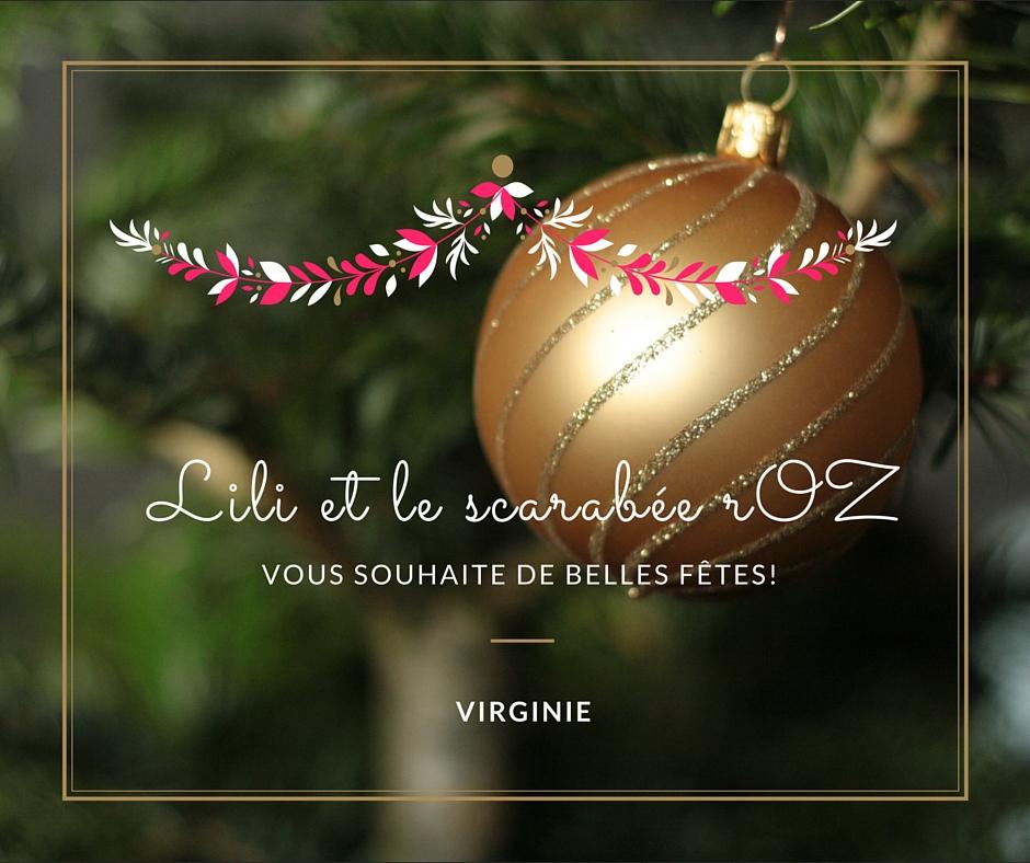 Joyeuses fetes 2015 - Lili et le scarabée rOZ