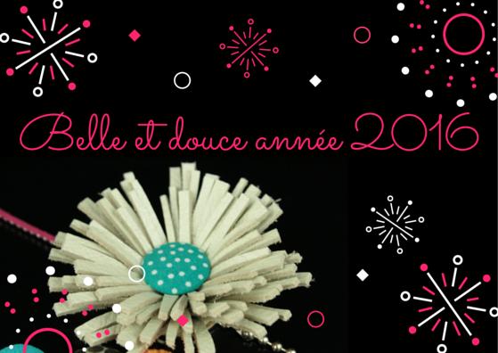 Belle et douce année 2016 - Lili et le scarabée rOZ