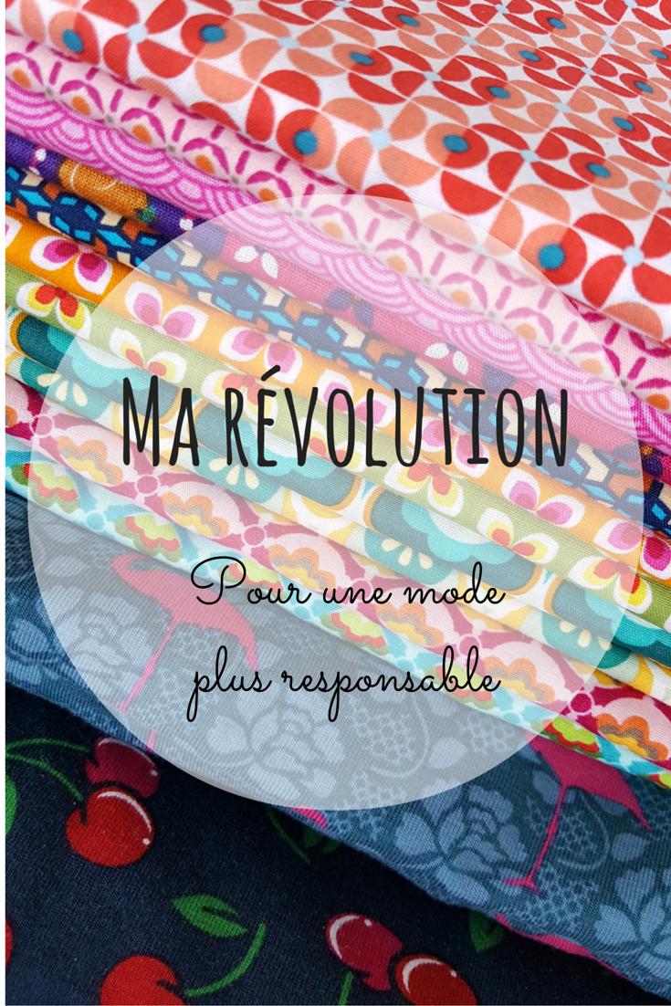 Ma révolution - pour une mode plus responsable