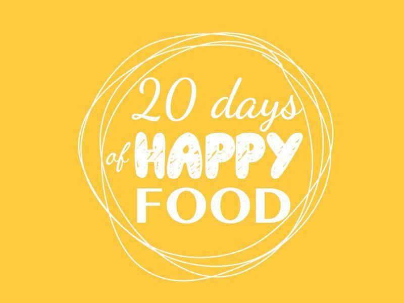 Mon avis sur le programme 20 days of happy food - Lili et le scarabée rOZ