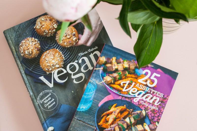 Aller plus loin : Livres vegan de Marie Laforêt