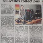 Les nouvelles collections dans les Dernières Nouvelles d'Alsace