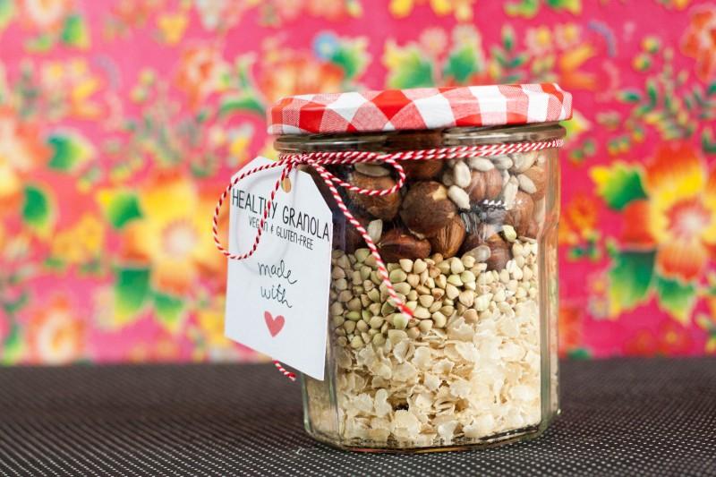 Idée cadeau : kit granola homemade