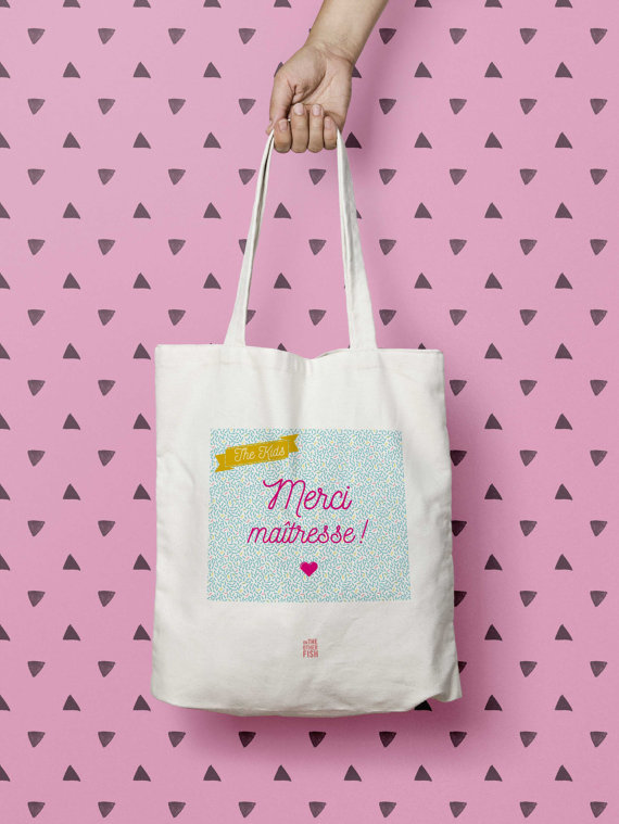 Sélection cadeau pour la maitresse : le tote bag